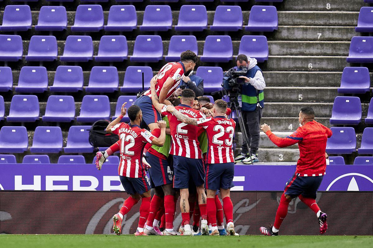 Real Valladolid CF v Atletico de Madrid - La Liga Santander