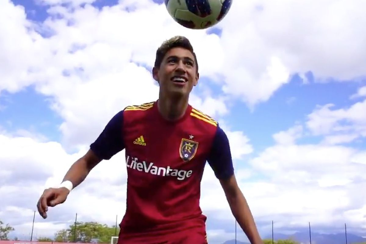 Real Salt Lake has signed Julian Vazquez to a homegrown contract.