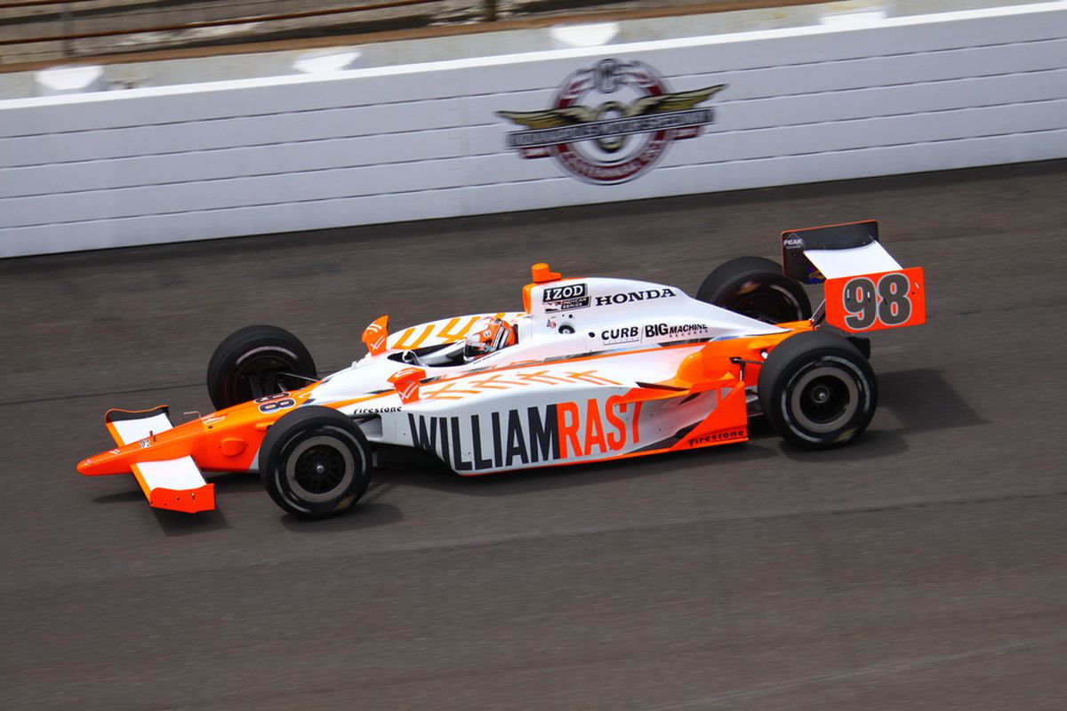Past Indy 500 winner Dan Wheldon may be one of the drivers trying to bump his way into the field for the 100th Anniversary Indianapolis 500 this weekend. (Photo: IndyCar.com)