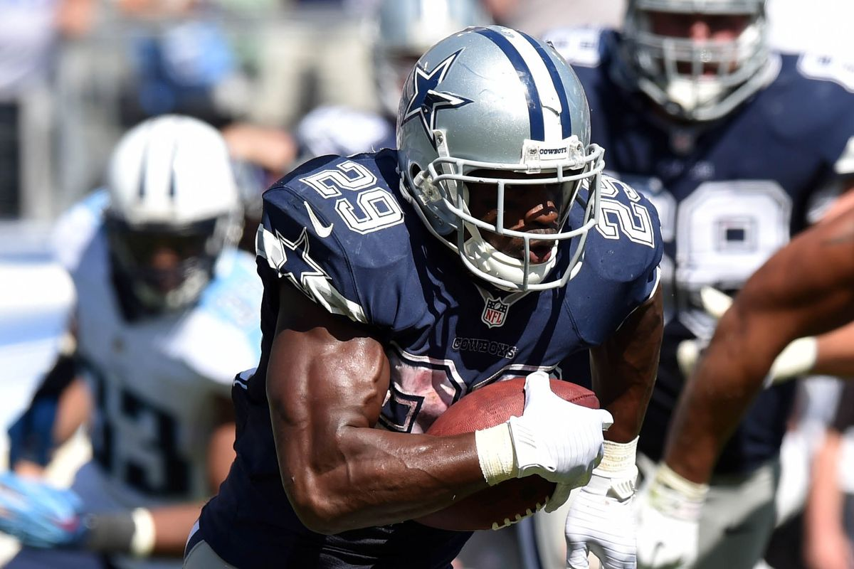 Season template: DeMarco Murray rushed for 169 against the Titans.