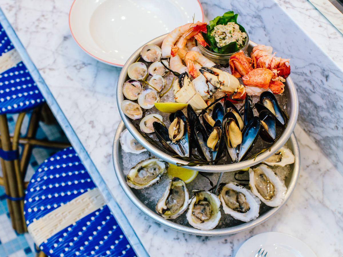 Seafood at Le Politique