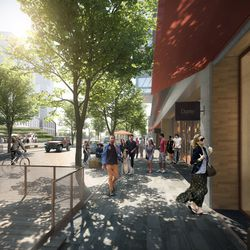 Artist's rendering of the Lincoln Yards development. | Provided by Skidmore, Owings & Merrill LLP (SOM)