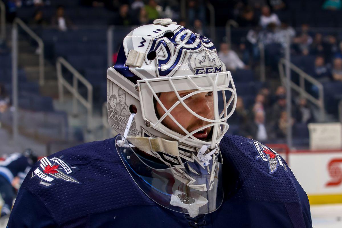 Michael Hutchinson To Start For The Winnipeg Jets Tomorrow Arctic Ice Hockey