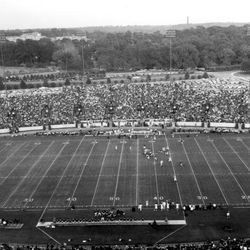 <strong>19??- Football game in progress at Doak Campbell Stadium</strong>