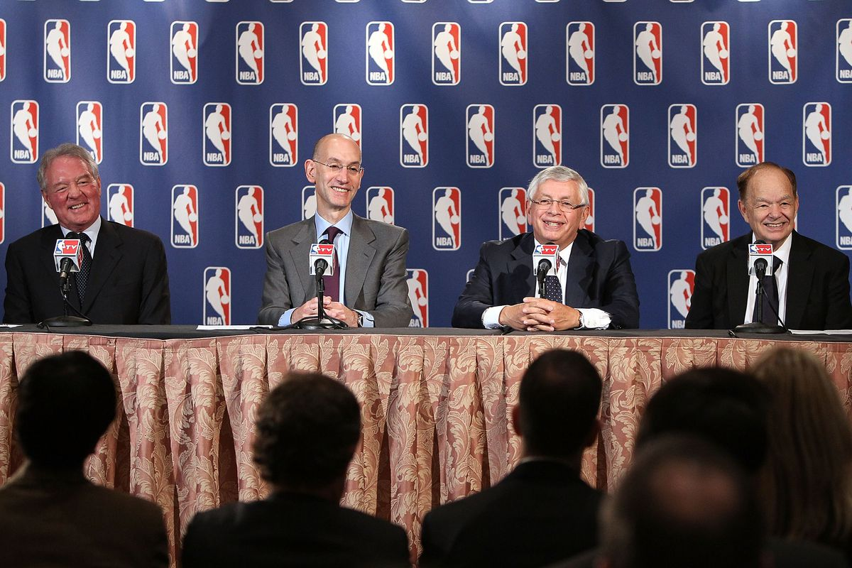David Stern will step down as league commissioner so as to never hand the championship trophy over to Glen Taylor.  Adam Silver secretly loves First Avenue and has a Beta copy of Purple Rain.