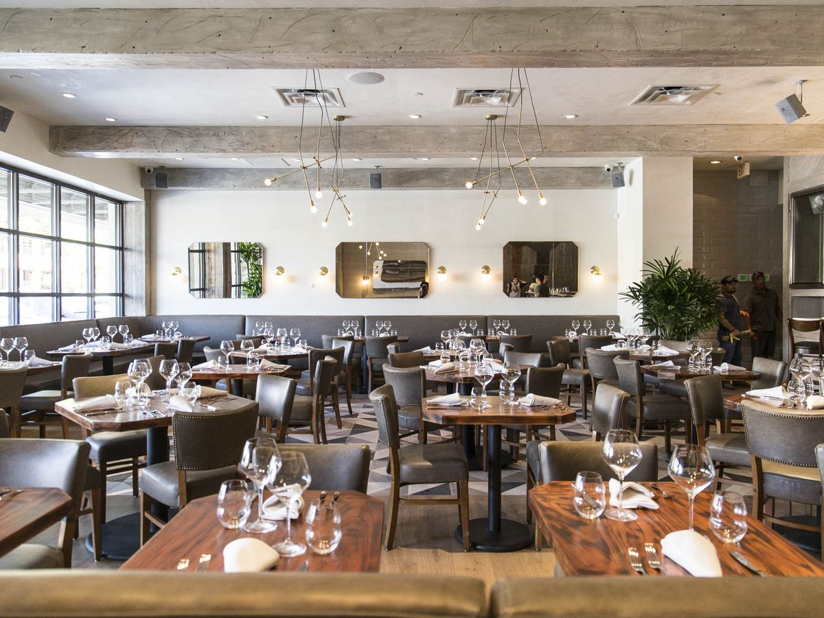 What better place than Madrina's ultra-sexy dining room to ring in the New Year?