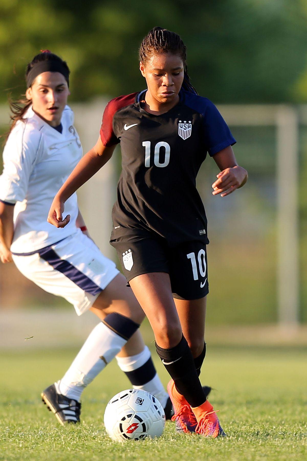 Italy U16 v USA U16 - 2nd Female Tournament 'Delle Nazioni' Final