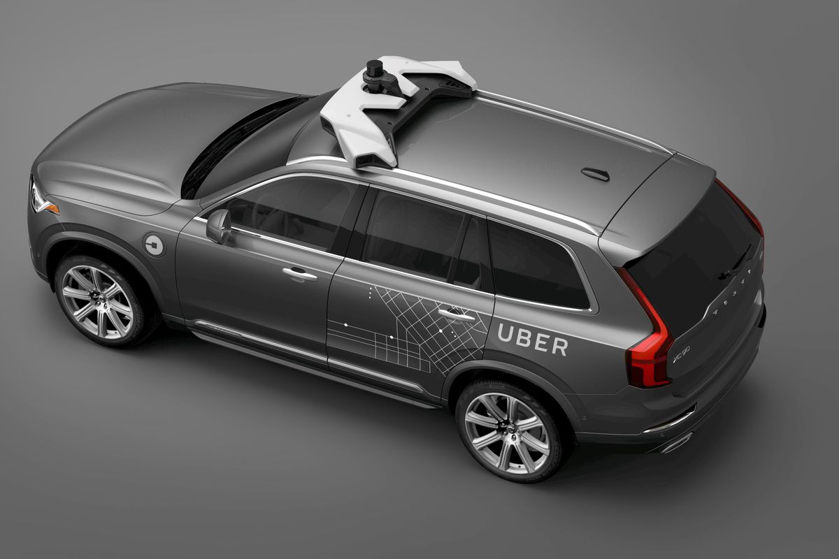 Volvo Has Agreed To 24 000 Suvs Uber For A Network Of Self Driving Cars