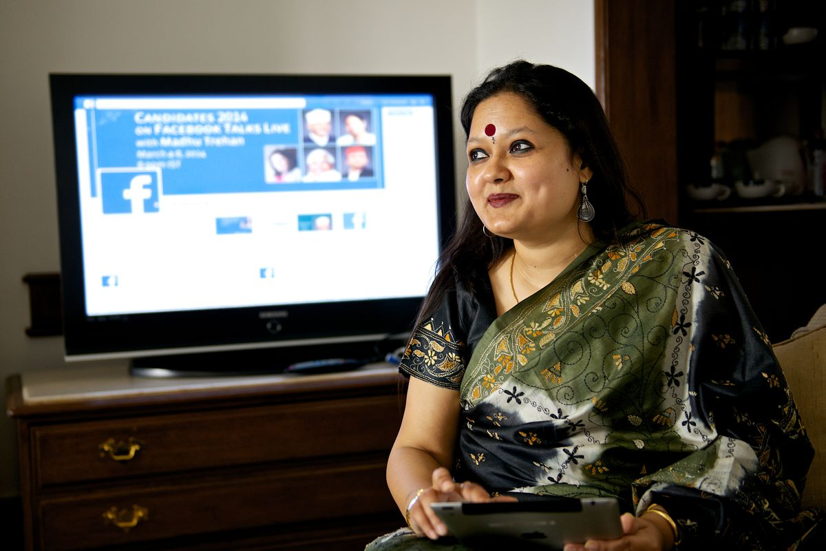 Mint Exclusive: Profile Shoot Of Facebook India And South & Central Asia Public Policy Director Ankhi Das