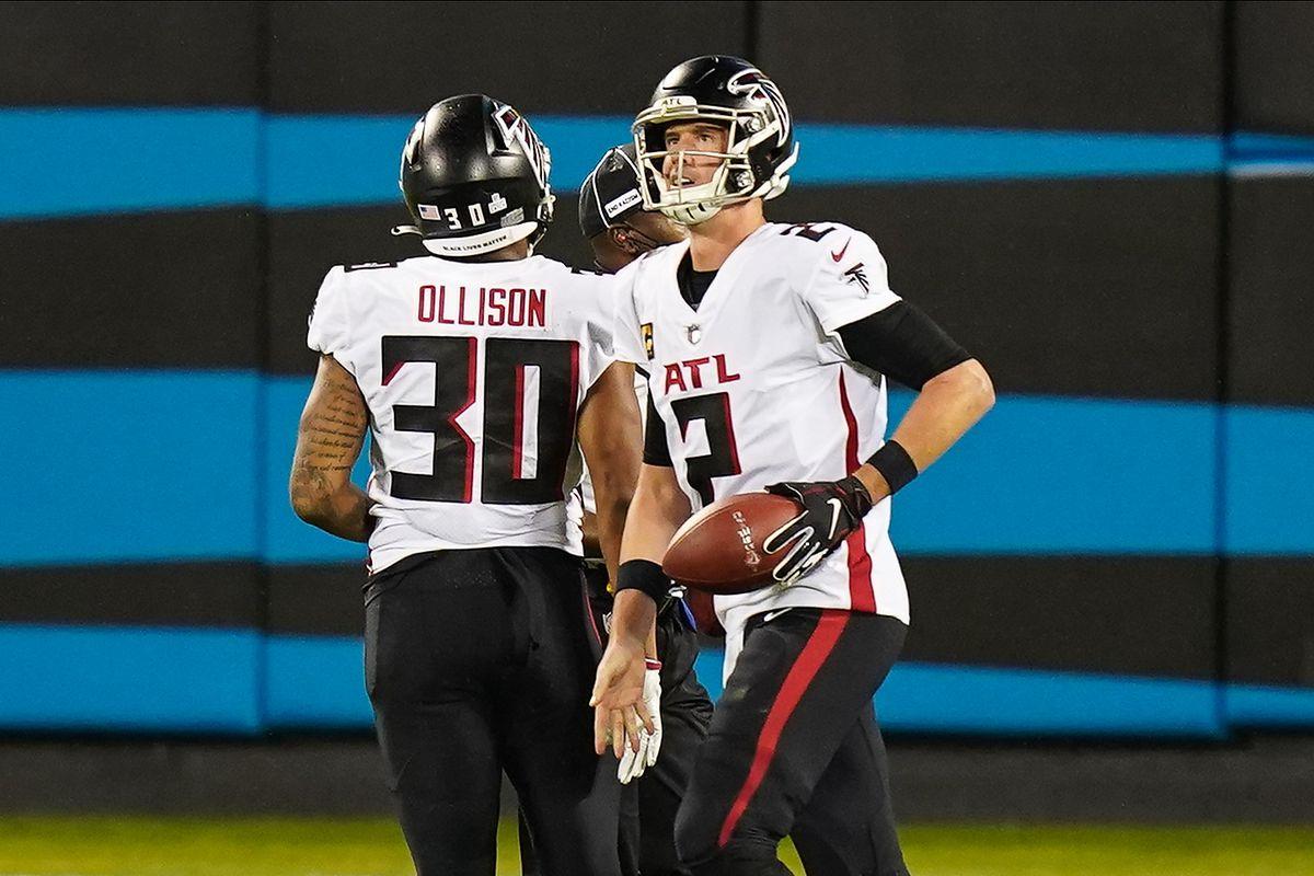 NFL: Atlanta Falcons at Carolina Panthers