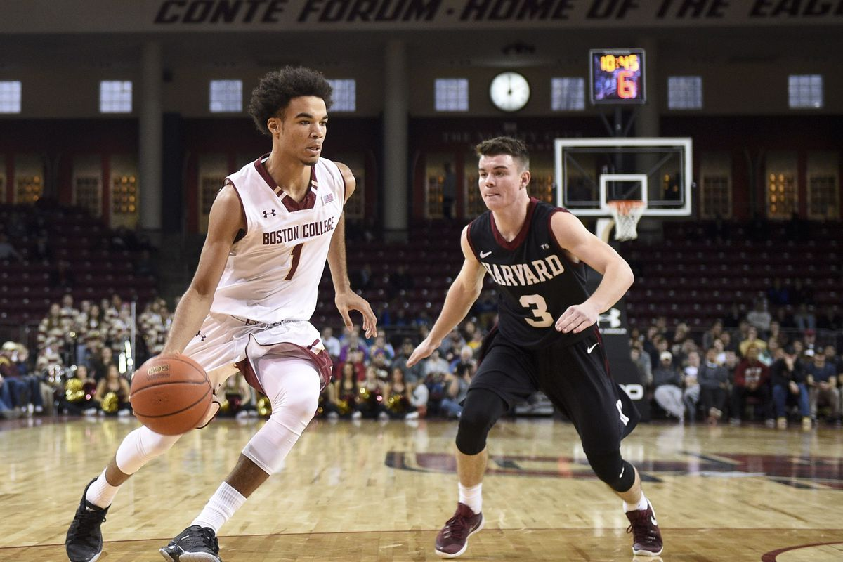 NCAA Basketball: Harvard at Boston College