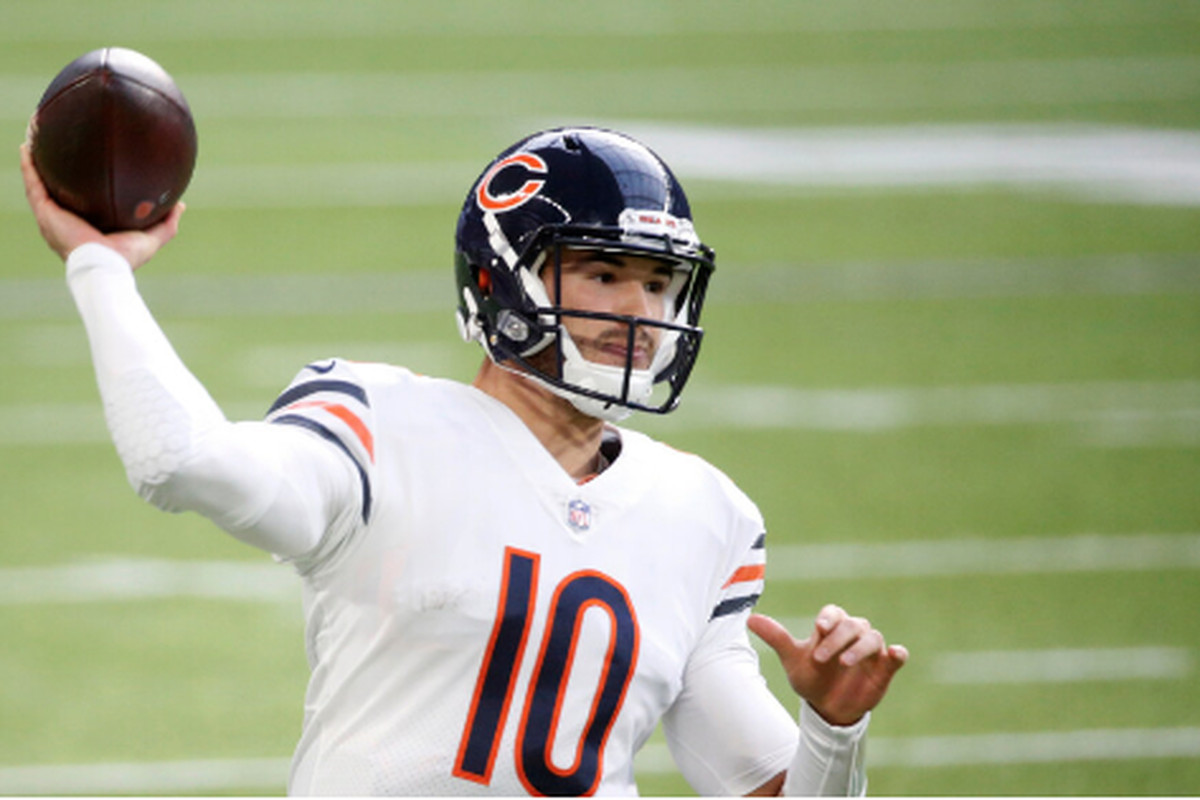 In four seasons, quarterback Mitch Trubisky has shown he isn't at the level the Bears need for him to be to compete for Super Bowls.