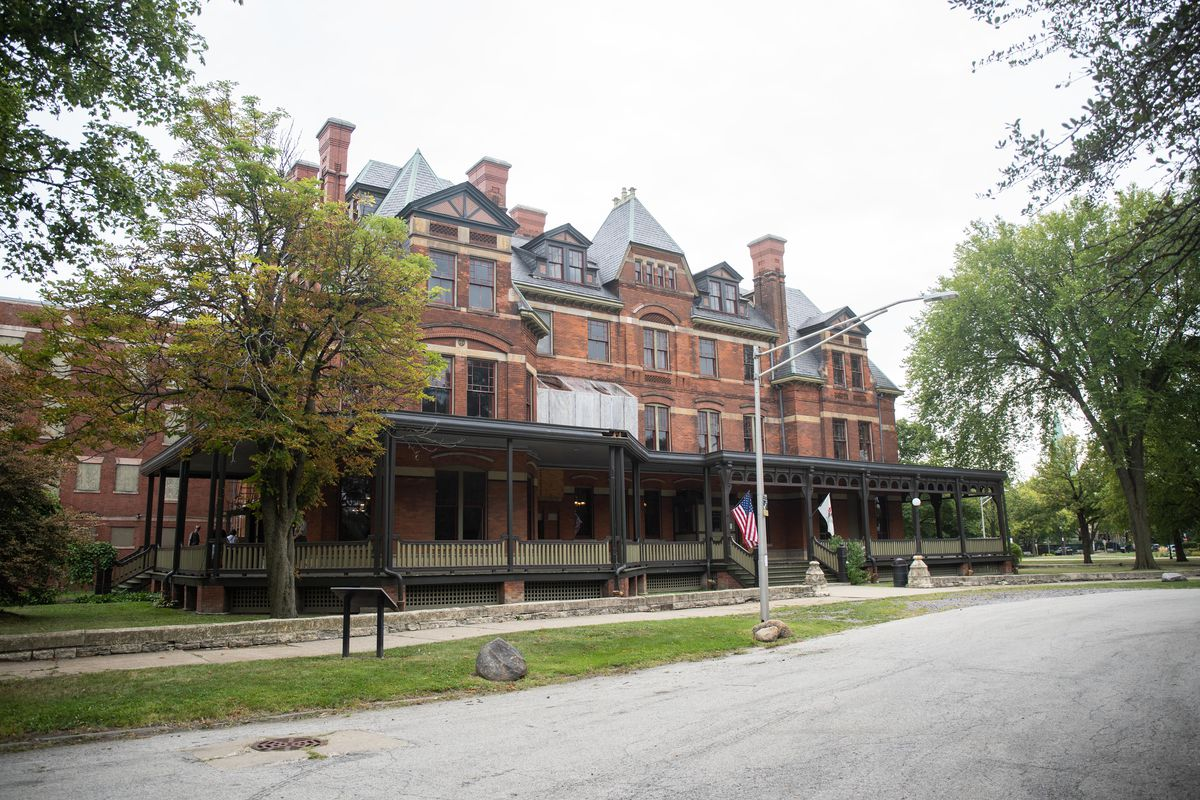 The Hotel Florence housed railroad CEOs who were in town to do business with the Pullman Palace Car Company.
