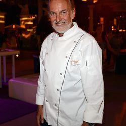 Hubert Keller at the Grand Tasting at Vegas Uncork'd. Photo: Ethan Miller/Getty Images
