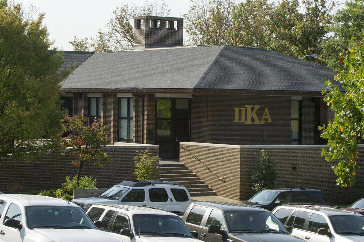 In a Tuesday, Sept. 25, 2012, photograph, the University of Tennessee Pi Kappa Alpha fraternity house is seen in Knoxville, Tenn. The fraternity was the scene of a notorious alcohol enema incident that sent one student to the hospital and brought unwanted