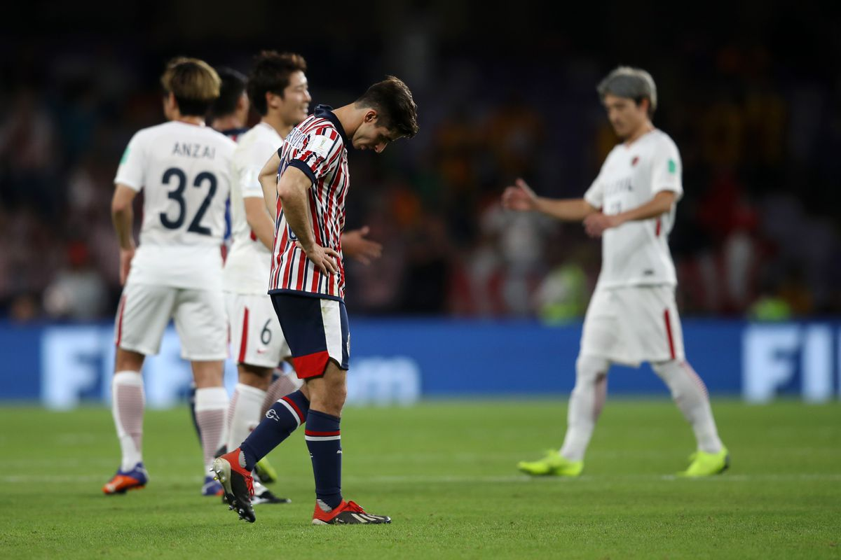premium selection 9dfda 4bf1e Chivas bounced out of 2018 Club World Cup - Once A Metro