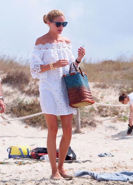 Vacation Outfit Inspiration From Olivia Palermo Amal and More Beautiful Humans - Racked