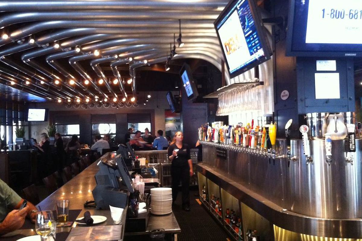 Inside Yard House at CityCentre.