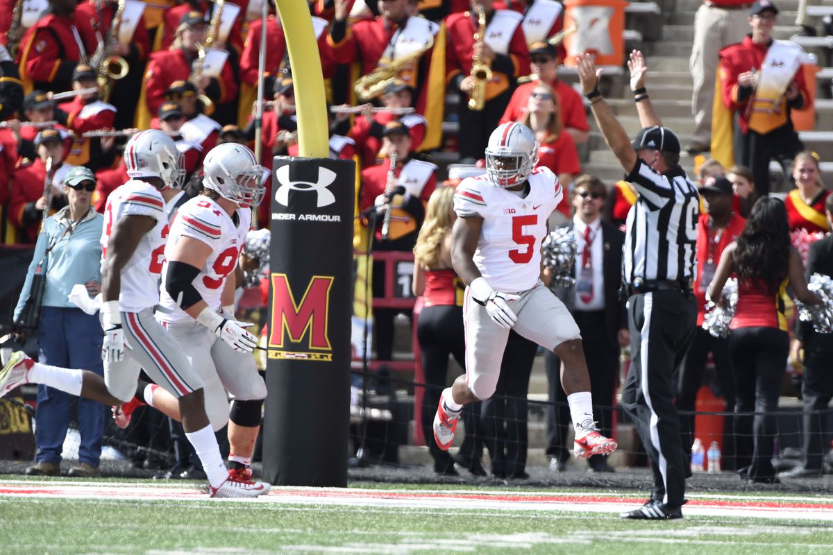 The Buckeyes sat back during their bye week and watched teams fall around them.