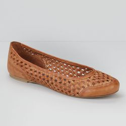 "Braided leather ballet flats, <a href=""http://us.levi.com/product/index.jsp?productId=17100436&Camp=CME%3AWomensShoesFS%3A20130221&csm=409004731&csc=586163&csa=409005411&csu=586170&"">$88</a>"