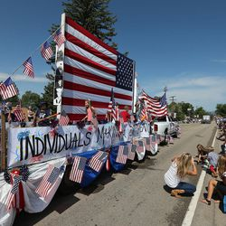 A morning parade takes place during the Oakley Fourth of July celebration on Thursday, July 4, 2013, in Oakley.