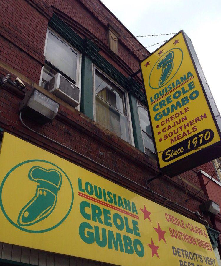 Louisiana Creole Gumbo in Eastern Market