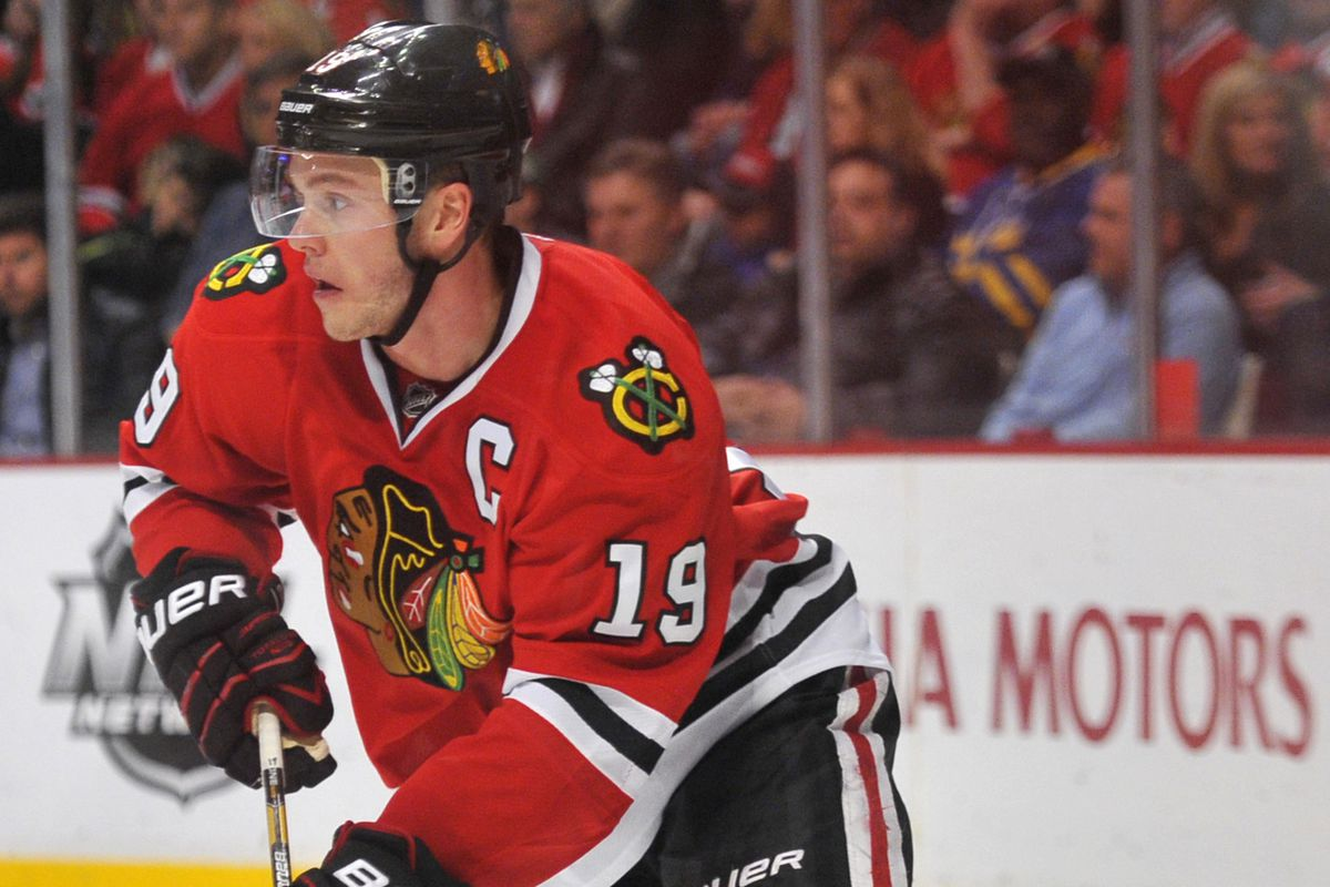 Jonathan Toews was the top overall pick in the 2003 bantam draft, before heading to North Dakota