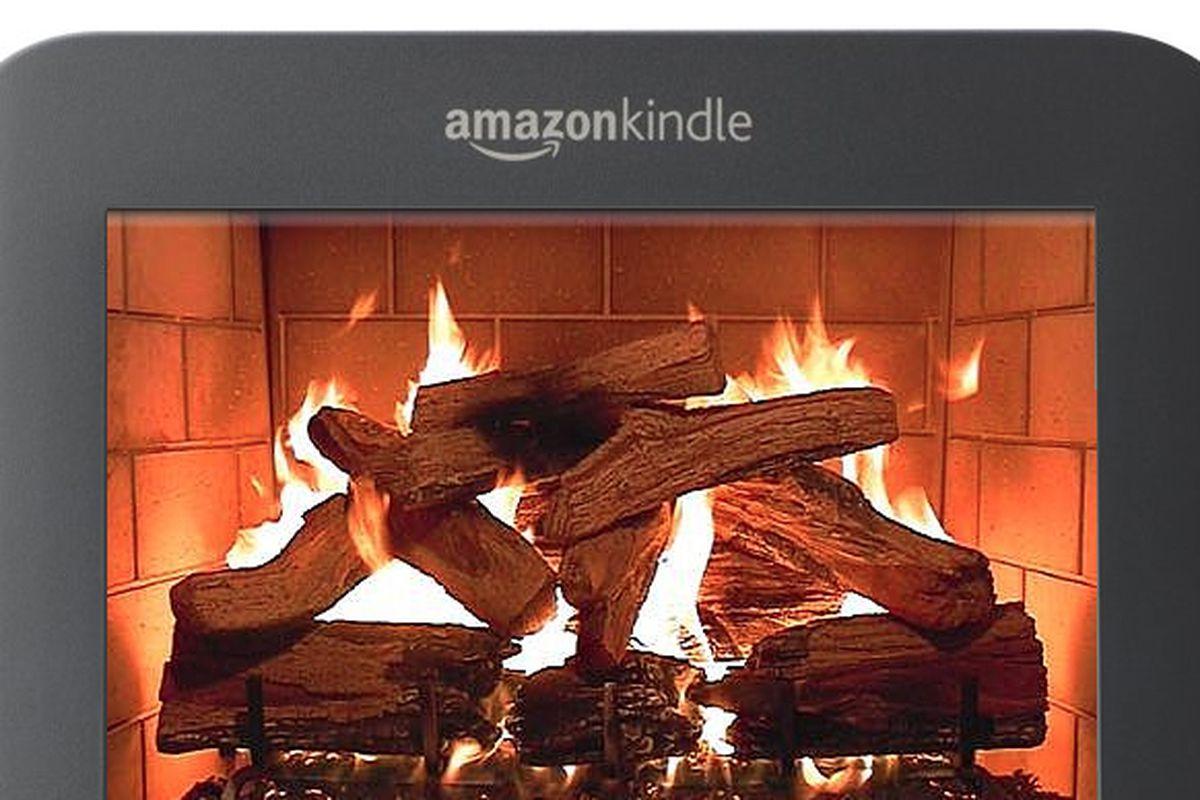Amazon Kindle Fire mockup