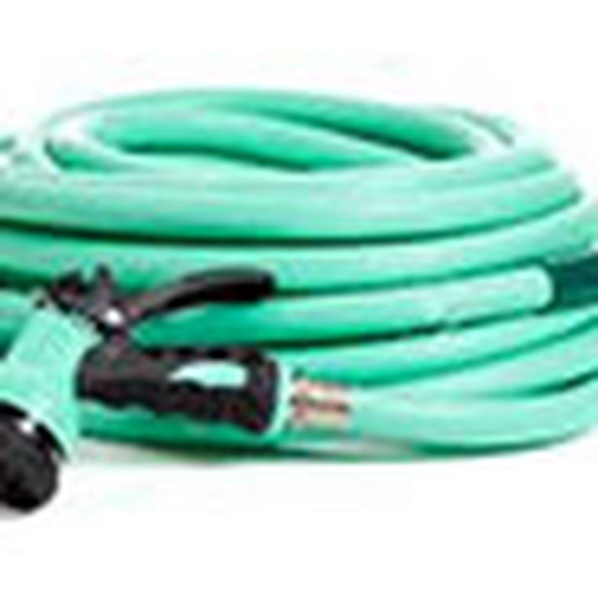 garden hose with nozzle