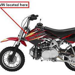 This undated photo taken from the U.S. Consumer Product Safety Commission website shows the Baja DR50 Dirt Bike imported by Baja Inc. d/b/a Baja Motorsports, of Anderson, S.C., and manufactured in China. The product is being recalled because the fuel tank can leak, posing a fire and burn hazard to consumers.