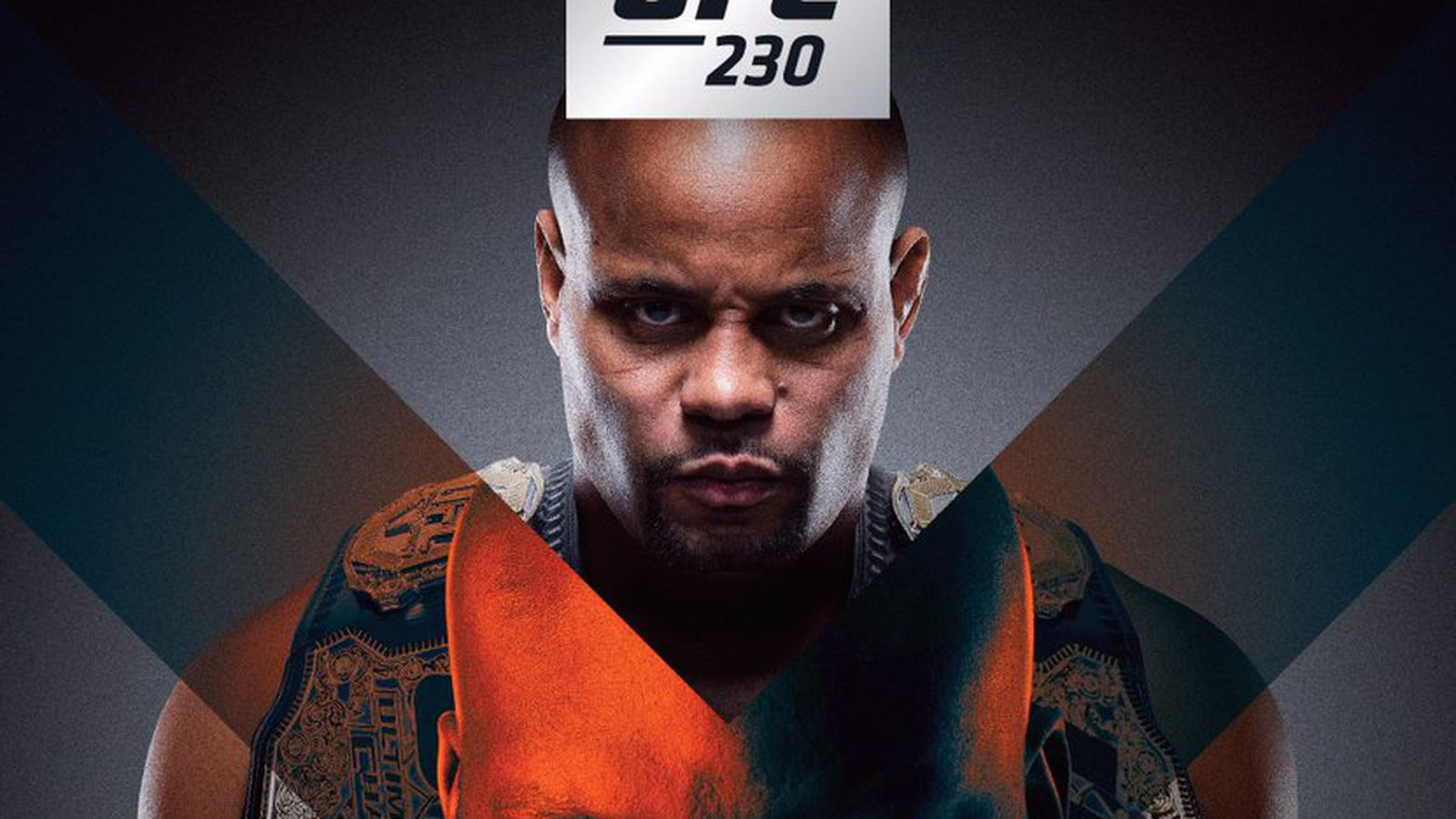 Pic: UFC 230 poster drops for 'Cormier vs Lewis' On Nov. 3