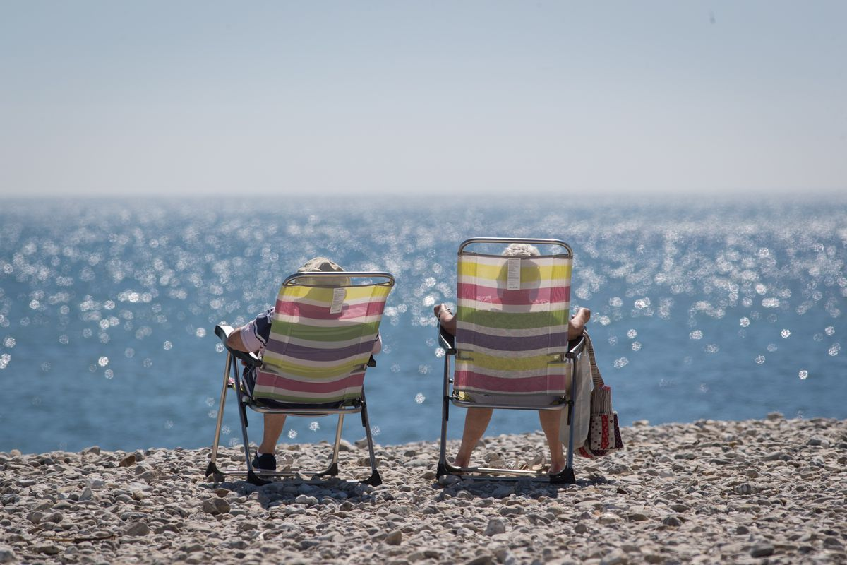 The UK Basks In Summer Weather