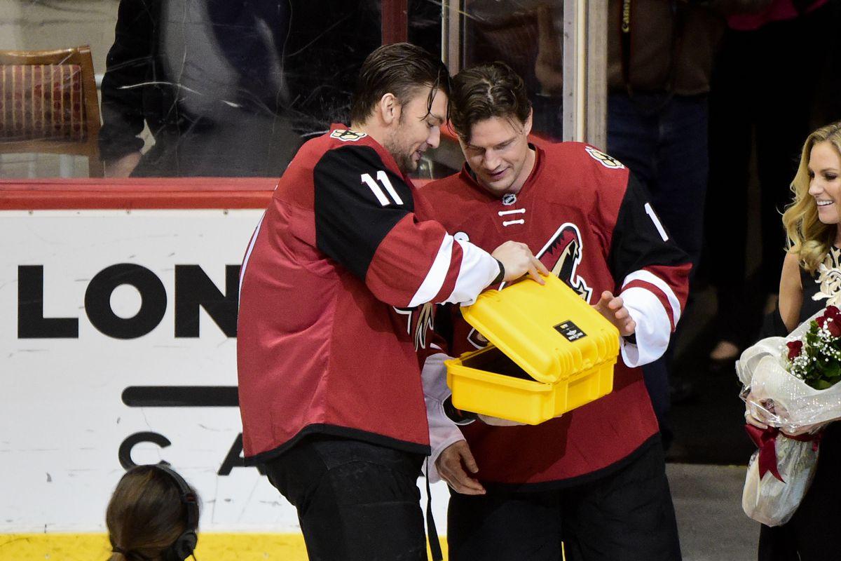 NHL: San Jose Sharks at Arizona Coyotes