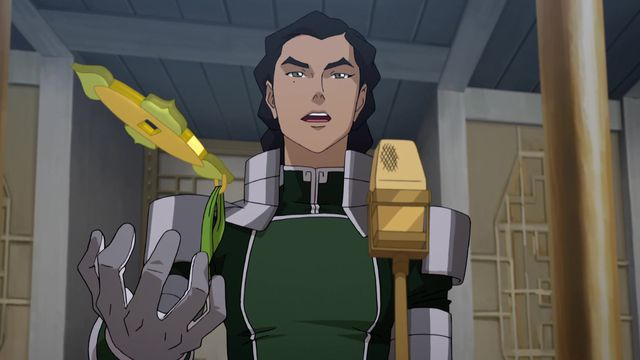 The Legend of Korra: Kuvira announces herself leader of the Earth Empire