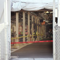 View inside Gate K -