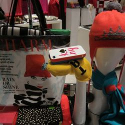 Hats, totes, iPhone cases, all by Kate Spade