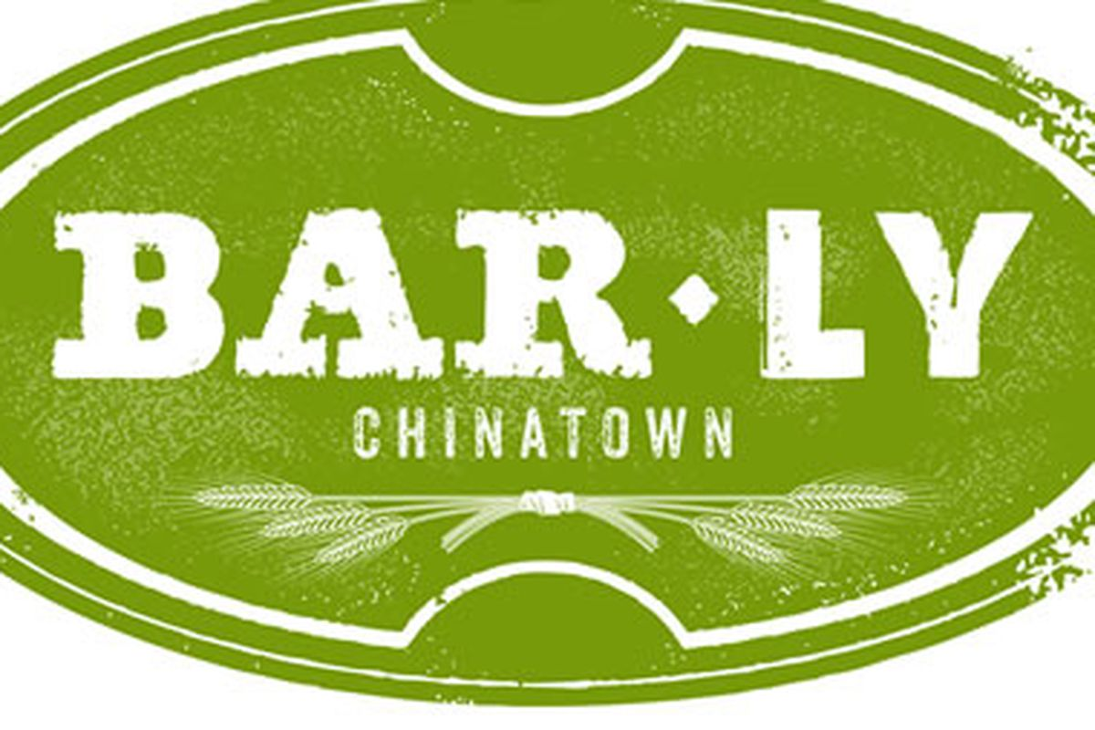 BarLy is coming to Chinatown.