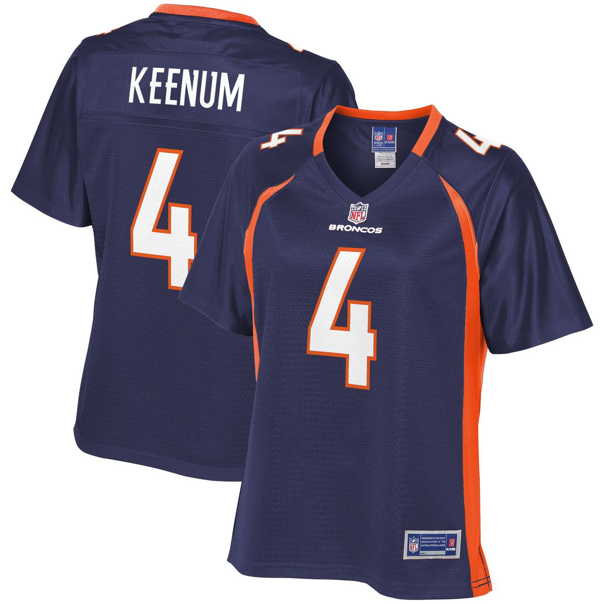 37d5ecc7399 Case Keenum Denver Broncos Nike Women's Pro Line Jersey for $99.99  NFLShop.com. Nike Player Pride T-shirt ...