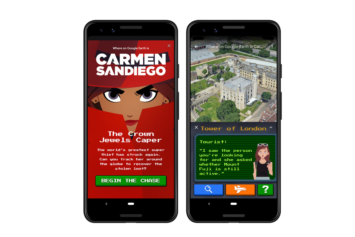 Now you can try to catch Carmen Sango in Google Earth ... Google Earth Map Download For Mobile on google heat map, find address by location on map, google world map, googl map,