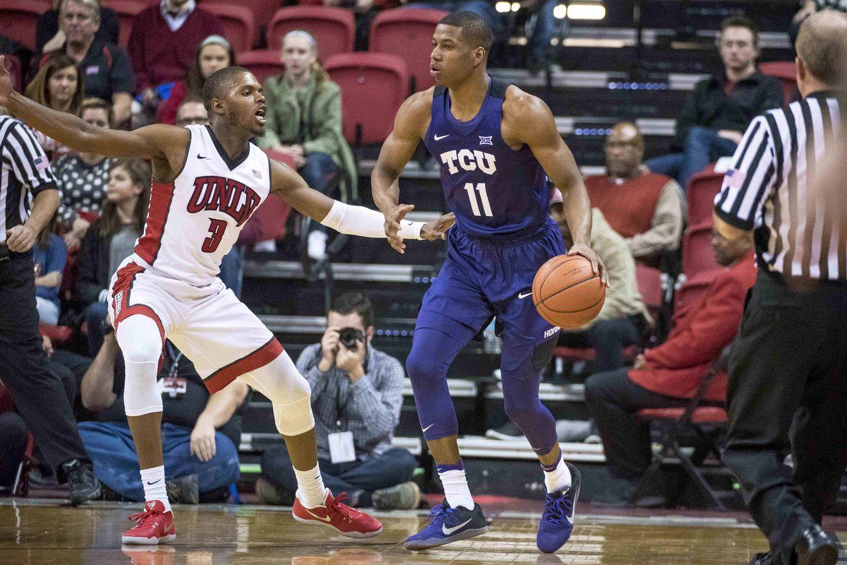 NCAA Basketball: Texas Christian at UNLV