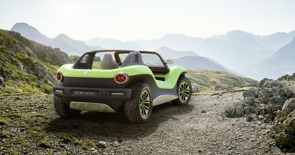 VW's electric dune buggy crams futuristic tech into a retro