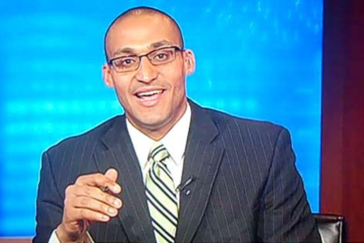 Ivan Carter, host of Comcast's Washington Post Live
