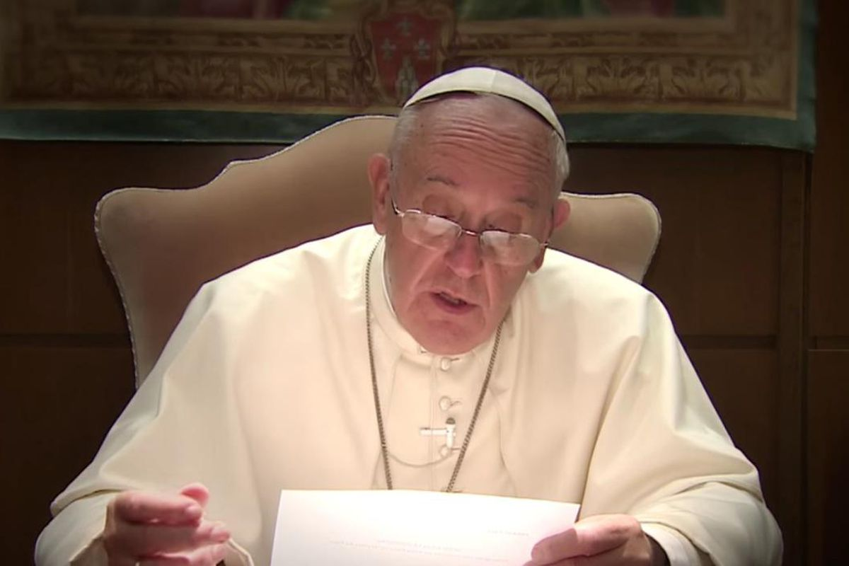 Pope Francis released his prayer intentions for January in a video.