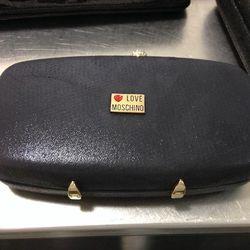 Moschino clutch, $72