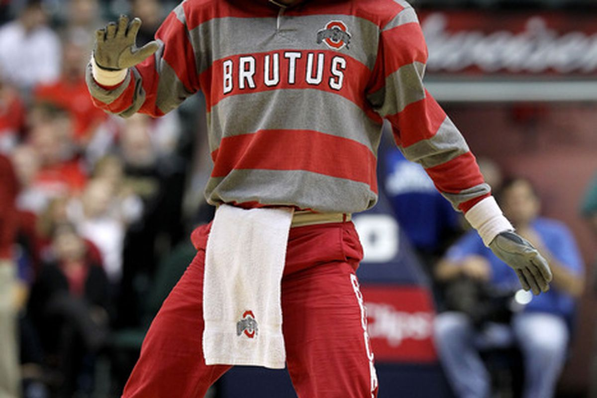 Ohio State maybe the overall #1 seed.. but the committee didn't do them any favors as they are in the toughest region, and probably have the toughest path to the Final Four. (Photo by Andy Lyons/Getty Images)