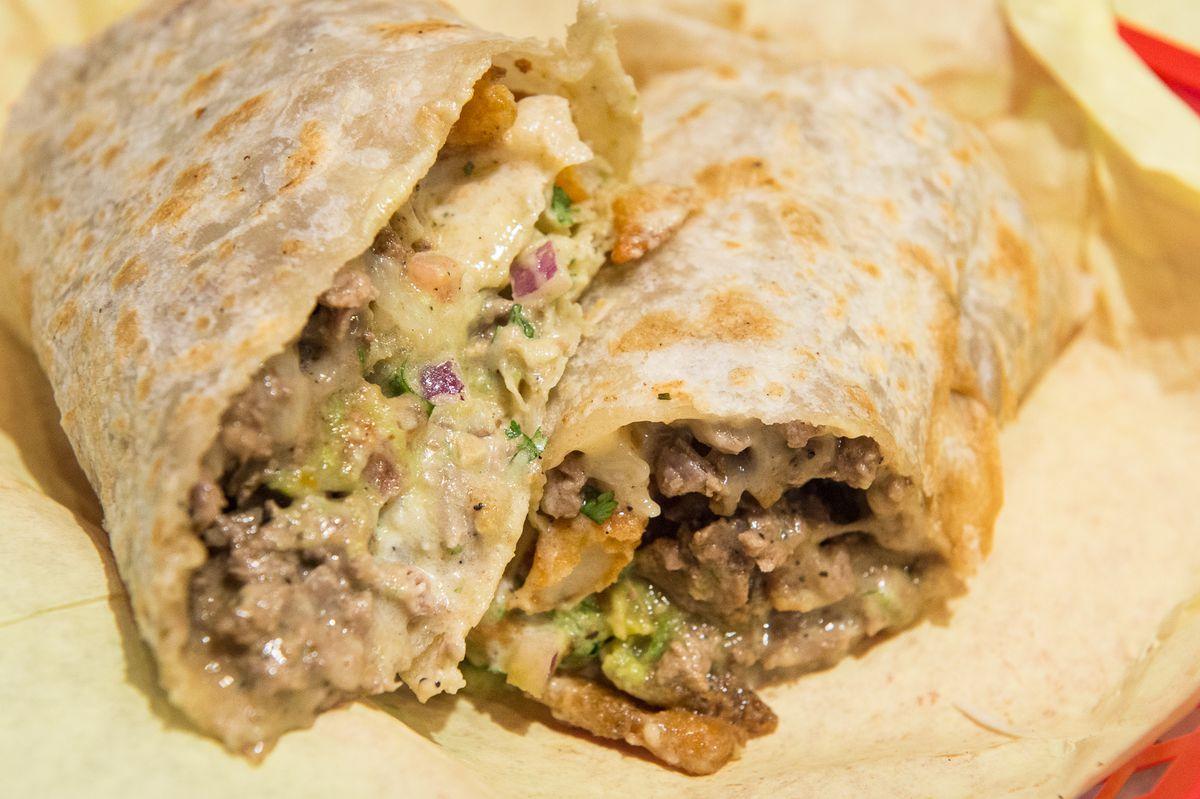 California burrito at Mike's Taco Club