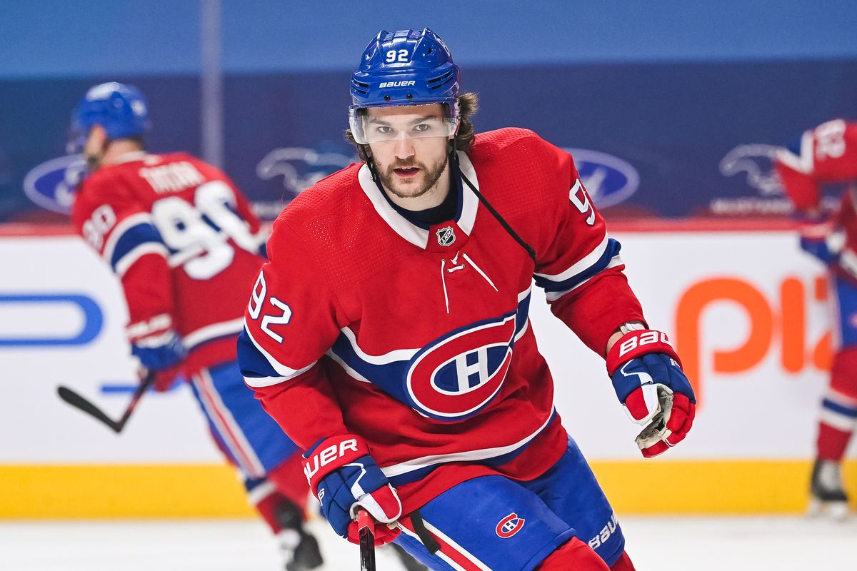 NHL: APR 16 Flames at Canadiens