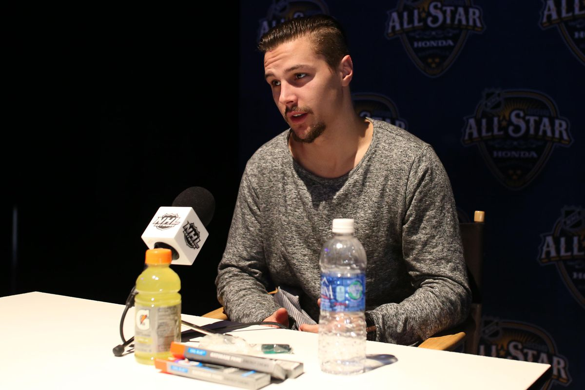 """""""Erik, what's it like playing with third pairing talent?"""""""