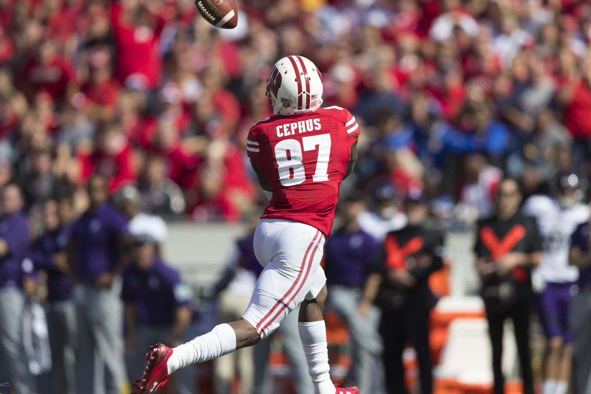 f1cb2a12 Wisconsin football: Quintez Cephus reinstated to the University of ...