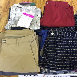 Maide golf pants, $49
